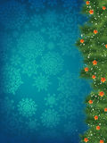 New year and cristmas card. EPS 8 Royalty Free Stock Image