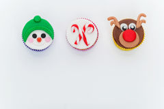 New Year cupcakes Royalty Free Stock Photo