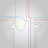 New Year 2015 Royalty Free Stock Photos