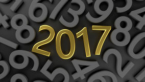2017 new year Stock Photos