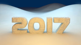 2017 new year Stock Image