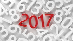 2017 new year Royalty Free Stock Images
