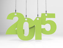 New year 2015. 3d concept design Stock Photo