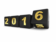 2016 new year Royalty Free Stock Images