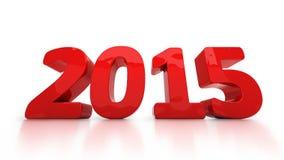 New 2015 Year Stock Photo