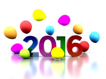New Year 2016 Stock Images