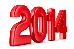 2014 new year. 3D image Stock Photography