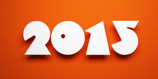 New year 2015 Royalty Free Stock Photo