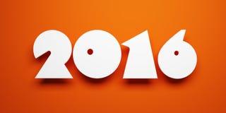 New year 2016 Royalty Free Stock Photos