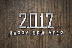 New Year 2017. 3D Rendered Image Stock Photo