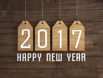 New Year 2017. 3D Rendered Image Vector Illustration