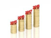 New Year 2018 Stock Photos