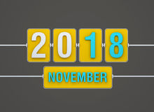 New Year 2018 Royalty Free Stock Image