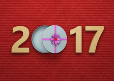 New Year 2017 Royalty Free Stock Images
