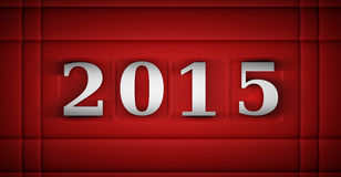 New Year 2015 Royalty Free Stock Photography
