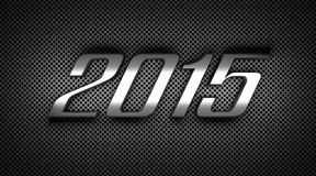 New Year 2015. 3D Text Royalty Free Stock Photography