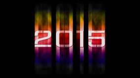 2015 new year. A dark wallpaper 2015 happy new year Royalty Free Stock Images