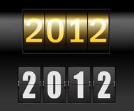 New year date Royalty Free Stock Photos