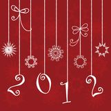 New year decorate. Stock Photography