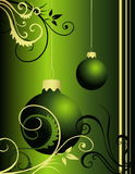 New Year decoration. Vector illustration of New Year background Royalty Free Stock Image