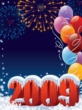 New Year decoration. Ready for posters and cards Vector Illustration
