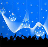 New Year decoration. Illustration of New Year decoration royalty free illustration