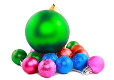 New Year decoration-balls. Stock Photography