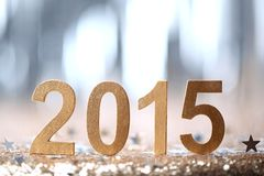 New year decoration. 2015.New year concept Stock Photography