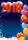 New Year 2018 Royalty Free Stock Photos