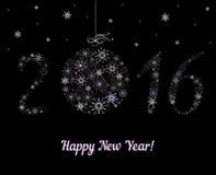 New Year  2016 decoration Royalty Free Stock Image