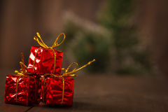 New year decoration holiday package, party Stock Photography