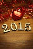 New Year 2015 decoration Royalty Free Stock Photography