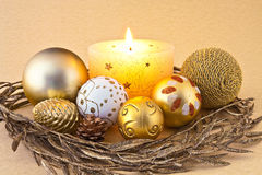 New Year decorations Royalty Free Stock Images