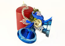 New-year decorations Stock Photos