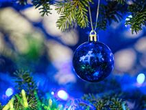 New Year decorations stock image
