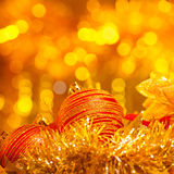 New Year decorative still life Royalty Free Stock Photos