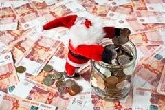 New year deposit Royalty Free Stock Photos