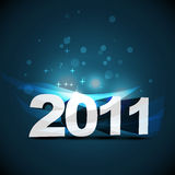 New year design. Beautiful  new year eps10 design Stock Image