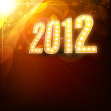 New year design Stock Image