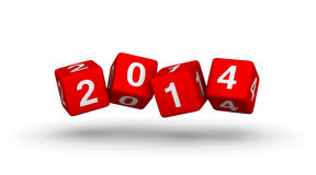 New year 2014. Design element Stock Photos