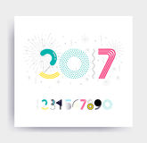 New Year design Royalty Free Stock Photo