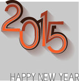 2015 New Year Design. 2015 Happy New Year Design vector illustration