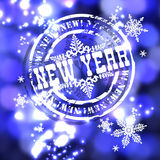 New Year design Royalty Free Stock Photography