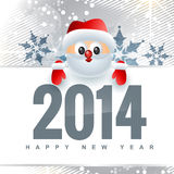 New year design with santa claus. Vector new year design with santa claus royalty free illustration