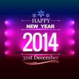 New year design. Shiny beautiful happy new year design background vector illustration