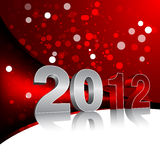 New Year Design Template. With 2012 digits Vector Illustration