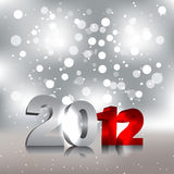 New Year Design Template. 2012 Royalty Free Illustration