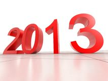 New Year 2013. Digital Illustration of New Year 2013 background Royalty Free Stock Image
