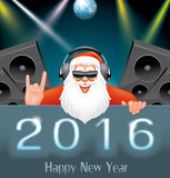 New Year disco party Royalty Free Stock Images