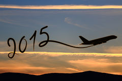 New year 2015 drawing Royalty Free Stock Images